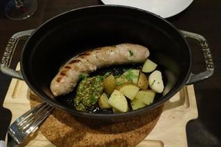 イタリアンキッチン UNO 松戸店 - 生ソーセージのグリル