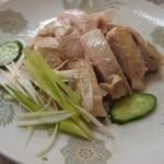 杏花村 - 白切鶏(蒸し鶏) 半皿