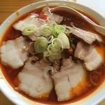 えびね - 料理写真:みんなでランチ。勝浦タンタン麺。いただきました。ご馳走さまでした。