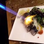 26979645 - 炭火イタリアン Azzurro520 +caffe @西葛西 イタリアン炙り〆サバ 880円(税抜)