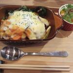 なんてんcafe - 野菜のドリア 900円