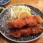 26981599 - 私が食べた ねぎまフライ定食。 ¥800〜                       美味かったです(^^)