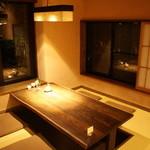 山紫御泊処 はなの舞 - 雰囲気がいいので、部屋食よりレストランがオススメ♪