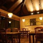 山紫御泊処 はなの舞 - レストランのテーブル席