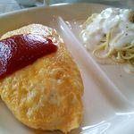 キッチンハウス ニキニキ - ランチ「トマトケチャップ&エビクリームのセット」