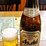美味餃子房 - (2014.5)瓶ビール550円