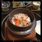 いと - 釜飯定食1200円ฅ( ̳• ·̫ • ̳ฅ)にゃ♡