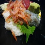 魚ごころ - 桜海老、生しらす、鮪等