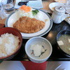 Shizukuishigorufujou - 料理写真:カツ定食・・注文したのは、カツカレーだったけど・・(;´∀`)