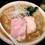 666 - コラボ企画の「ニボ鶏白湯」鶏白湯&煮干ラーメン