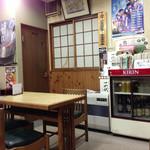 第二公園 山長 - 店内の様子