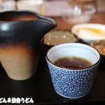 さかい - 蕎麦湯