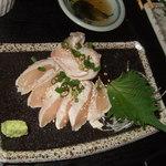 げん - とりま※鶏の刺身¥500