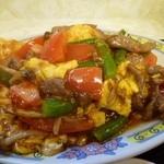 26995302 - 玉子とトマトとお肉の炒め物(new)