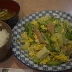 すなかぎ - ゴーヤ定食