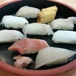 朝どれ寿司