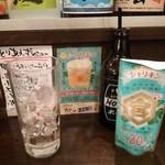 26999244 - シャリキンなのに、グラスには氷が・・なんでかね?