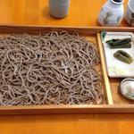 蕎麦花 - 板そば300g@1350円