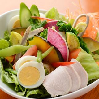無農薬の高原野菜を使っております!