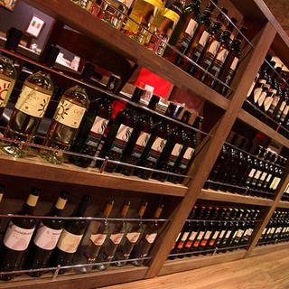 バル使いもできる♪スパークリング・ワインもお手軽。