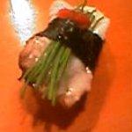 新橋 蛇の目寿司 - こんな握りもあります。ネタはお店で聞いてね