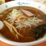 昌龍 - みそラーメン;豆味噌の風味がキめ手 (^^) @2014/05/03