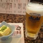 大松寿し - 明るいうちから呑む生ビールは最高!!