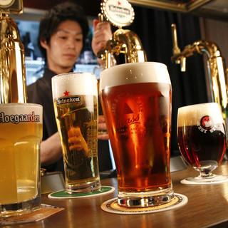 チキンと一緒に飲みたい!ドラフトビールと世界各国の瓶ビール★