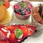 あさひや - ケーキ4種 2014.5