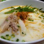 ニャー・ヴェトナム - 蒸し鶏とピリ辛豚挽肉入り豆乳スープのフォー@ビューティーセット