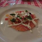 グランド・セントラル・オイスターバー&レストラン - 鮮魚のカルパッチョ
