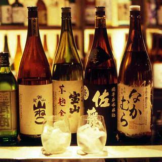 九州自慢の地酒、焼酎を豊富に取り揃えました