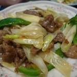 27008548 - (2014/3月)「ラム肉とネギ炒め定食」
