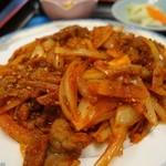27008552 - (2014/3月)「ラム肉のクミン炒め定食」