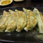 煮豚亭 砂馬 - <'14/05/05>餃子¥110