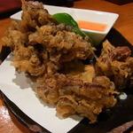 かずとら - 舞茸のパリパリ揚げ(850円)