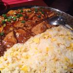 27009631 - 黒胡椒の麻婆豆腐ランチ