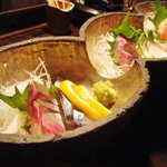 食楽酒房 花蔵 - 料理写真:刺身の盛り合わせ