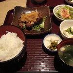 2701546 - チキン竜田のおろしポン酢\1,000