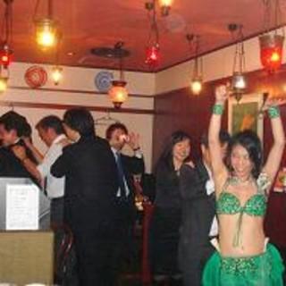 毎月最終木曜日には、ベリーダンスナイト!