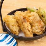 27010029 - 牡蠣の天ぷら