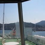 グランマ - 九四フェリーは大分県の佐賀関から愛媛県の三崎までを70分で運んでくれます♪