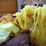 ビストロde麺酒場 燿 - 二郎というより五郎の太さ?(G麺系)
