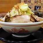 ビストロde麺酒場 燿 - G麺系ガッツリら~めん大盛¥700
