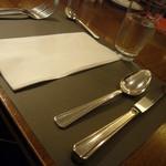 モンマルトル - テーブルセット