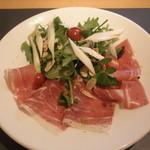 Bistro VegetableMarket - ハーブとプロシュートのサラダ