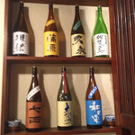 27013228 - 店に置いてある日本酒全部です
