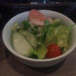 ぶどうの森 - パスタセットのサラダ