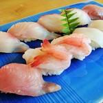 いその香り - 地魚にぎり(2160円)