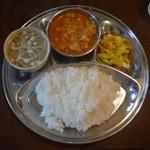カフェ サンティ - ネパールカレーセット(いわゆるダルバート)